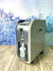 Кислородный концентратор OXYGEN CONCENTRATOR 1-5L генератор 5 литра / кислород прибор / аппарат для кислорода, фото 3