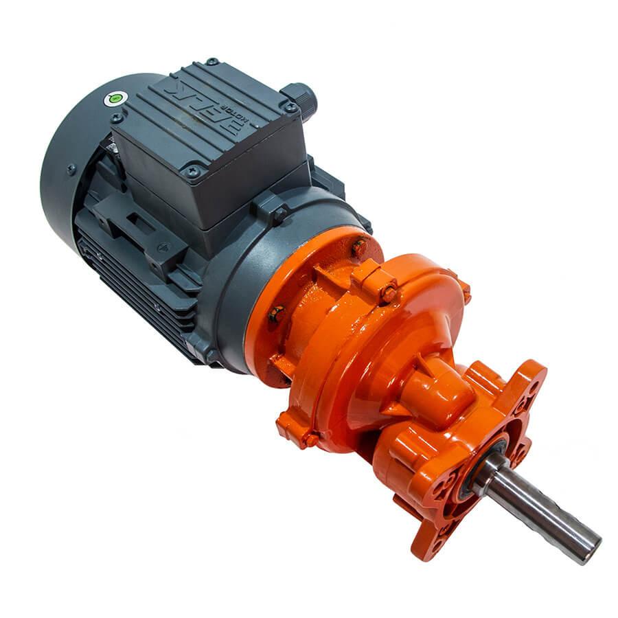 Мотор-редуктор 0,75 кВт для поперечной линии кормления