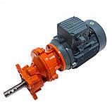 Мотор-редуктор 0,75 кВт для поперечной линии кормления, фото 2