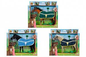 Лошадка с попоной и аксессуарами Simba 4324964