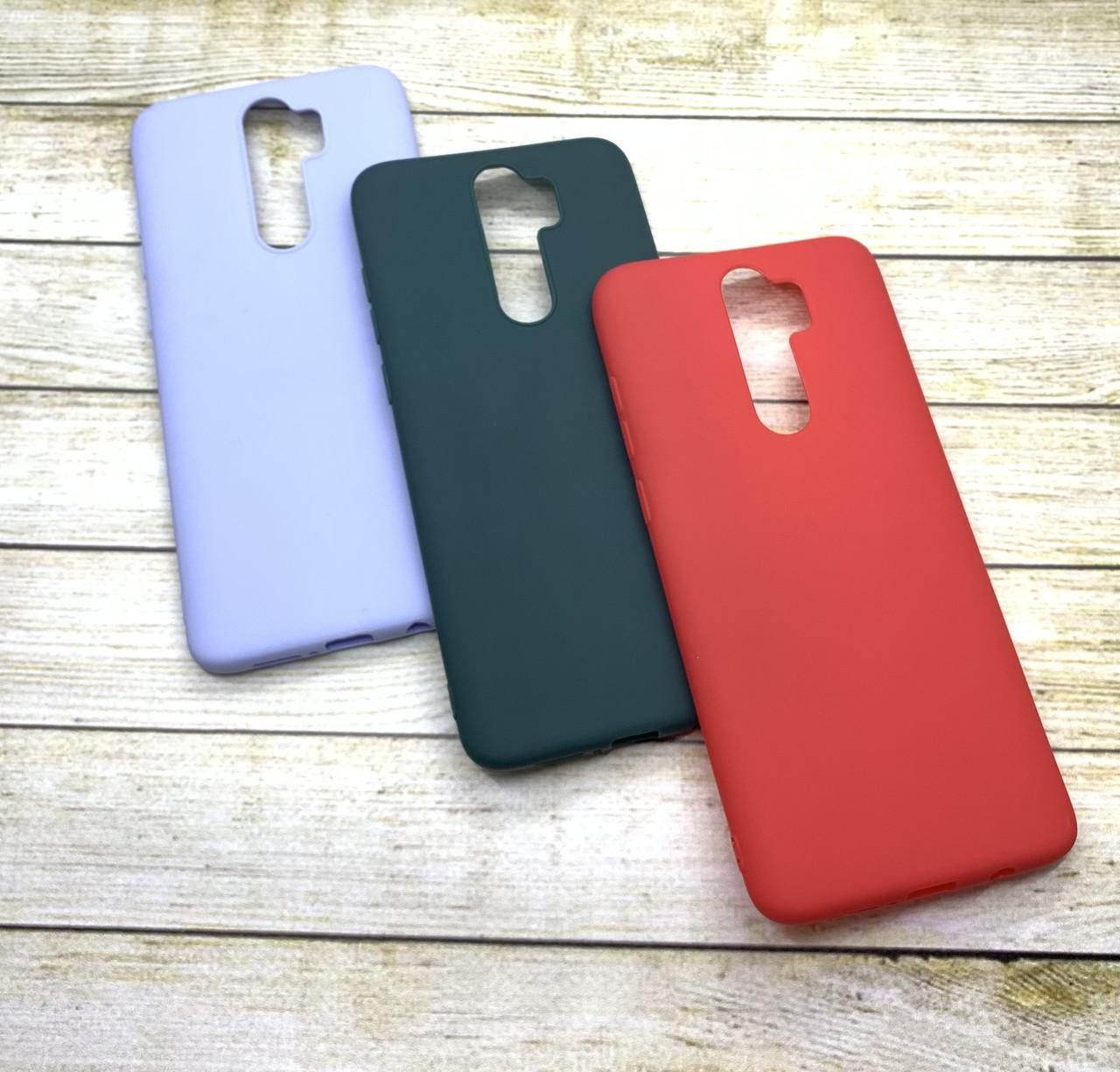 Чехол Xiaomi Redmi Note 8 Pro силиконовый цветной матовый