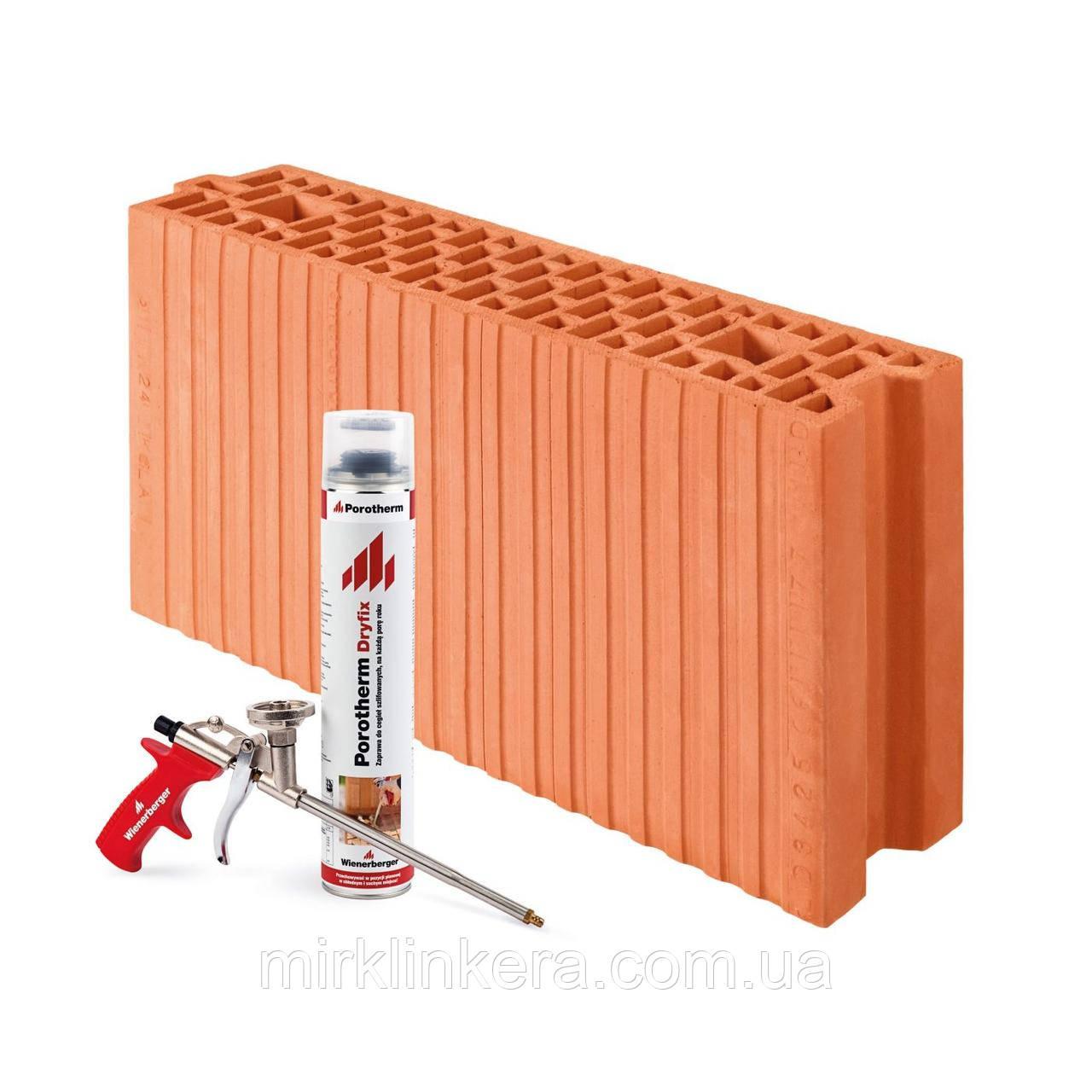 Керамічний блок Porotherm 25 PW