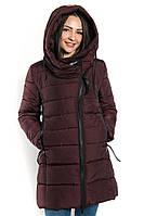 Теплая женская куртка-пальто