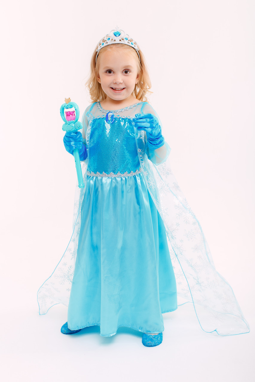 Платье принцессы Frozen