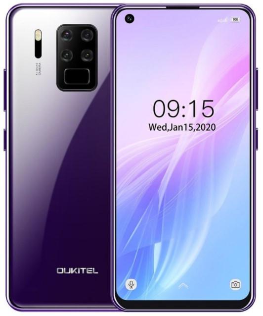 OUKITEL C18 Pro 4/64Gb Purple Гарантия 1 Год