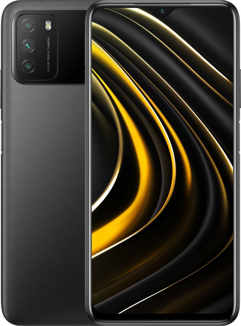 Xiaomi POCO M3 4/64 Black Гарантия 1 Год