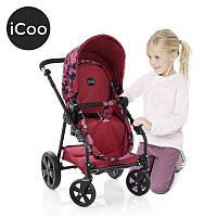 Коляска для кукол 3 в 1 (ручка 50-72 см) HAUCK ICoo Manhattan D-89450 Розовая
