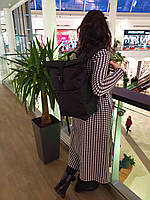 Рюкзак Roll Top / Рюкзак чоловічий - жіночий / Рюкзак для Ноутбука / Рюкзак мужской черный / рюкзак городской, фото 1