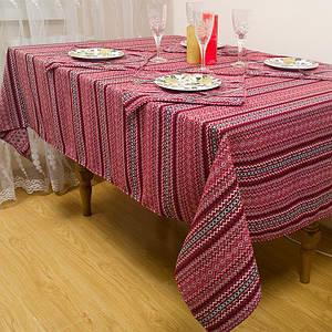 Скатерть тканная в украинском стиле