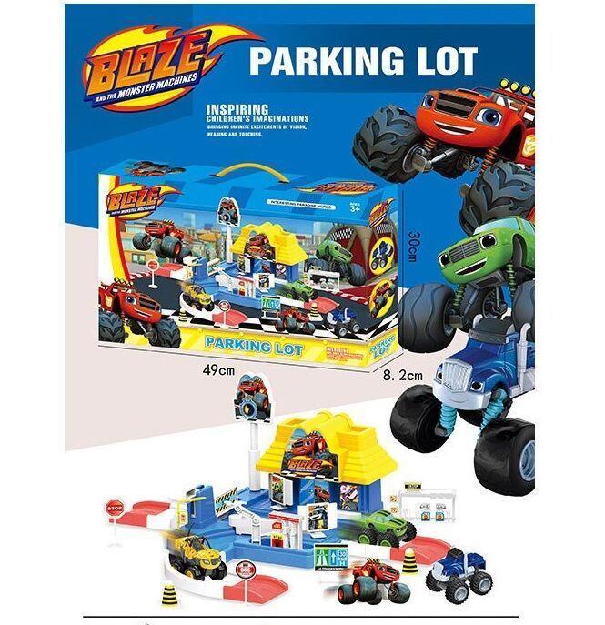 """Гараж Parking Lot """"BLAZE"""" Вспыш  в коробке 553-395 B"""