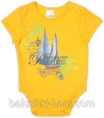 Боди детский короткий рукав для мальчика, р. 74 (7-9 месяцев)