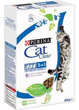 Сухой корм для взрослых котов Cat Chow (Кет Чау) 3 в 1, 1,5 кг