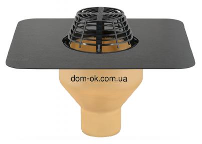 Воронка с полиуретана SitaStandard с ПВХ-фартуком, диаметр 160мм