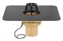 Воронка с полиуретана SitaTrendy с ПВХ или битумным фартуком и системой обогрева, диаметр 160мм