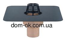Воронка с полиуретана SitaTrendy с ПВХ или битумнім фартуком, диаметр 110мм