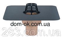 Воронка з поліуретану SitaTrendy з ПВХ або битумнім фартухом, діаметр 110мм