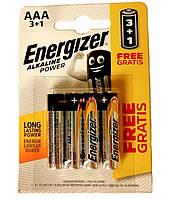 Батарейки Ergolux LR03 AAA, 4 шт