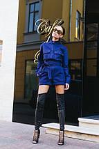 Комбинезон женский джинсовый AniTi 510, синий, фото 3