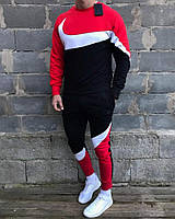 Найк Winter 2020 спортивний костюм мужской красний