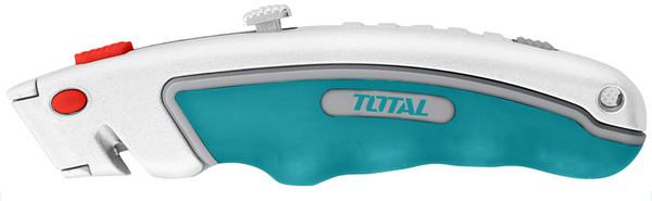 Нож TOTAL THT512611 19x61мм. + 6 лезвий