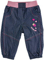 Детские штаны на флисе для девочки на 92 рост (1,5-2 года)