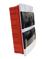 Распределительный  щиток  пластиковый для монтажа в стену 24 модуля