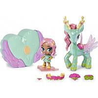 Кукла Hatchimals 6058551 - Наездники пикси - Волшебный дельтаплан Мэдисон и Баттерпа, фото 1