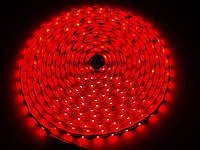 SMD 3528 светодиодная лента 5м Red 300 диодов влагозащищенная (0120)