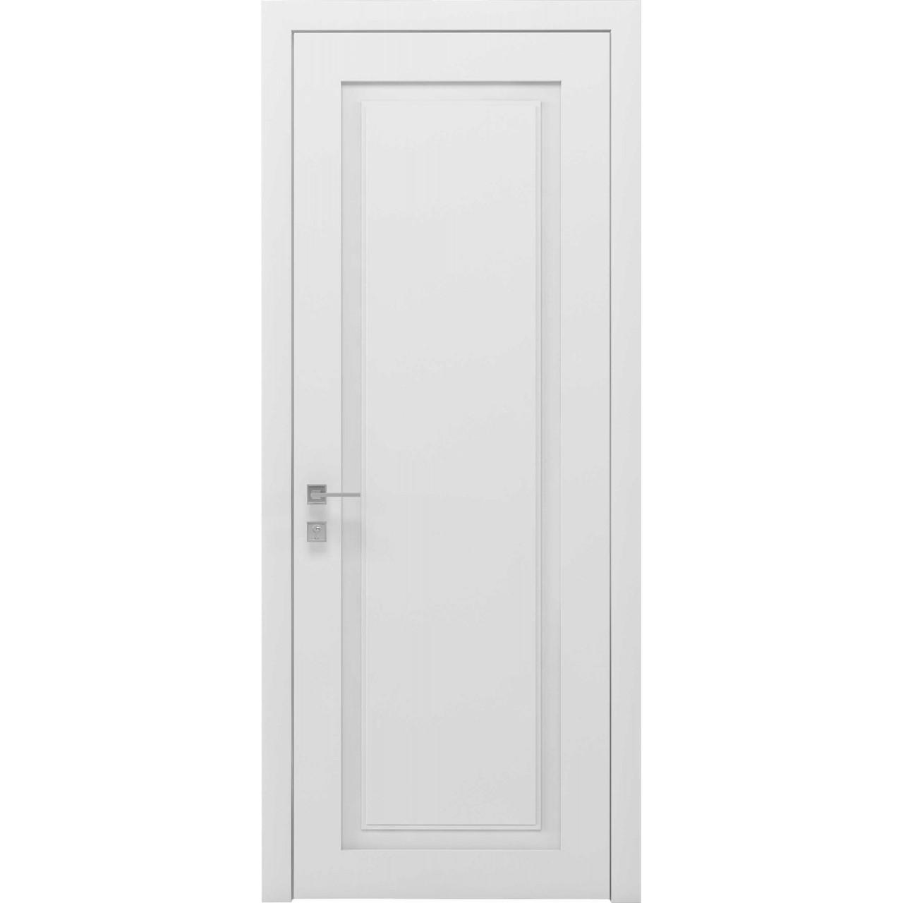 Двері Родос Cortes Venezia, глухе, білий мат