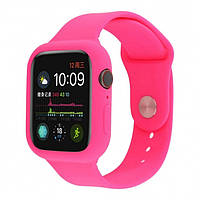 Ремешок Apple Watch Silicone 42/44mm Hot Pink
