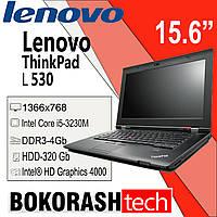 """Ноутбук Lenovo L530 / 15.6"""" / Intel Core i5-3230M / HDD-320GB / DDR3-4GB / Intel®HD Graphics4000 (к.00119531), фото 1"""