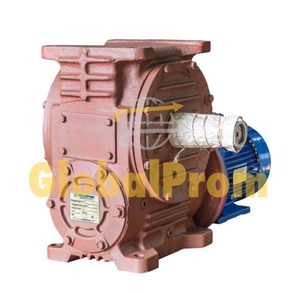 Мотор-редуктор червячный МЧ-40 на 56 об/мин