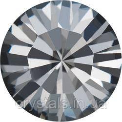 Пришивные стразы в цапах Preciosa (Чехия) ss20 Crystal Nightfall/серебро
