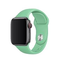 Ремешок Apple Watch Silicone 42/44mm Spearmint (мятный)