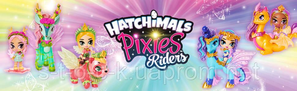 Кукла Hatchimals 6058551 - Наездники пикси - Fabula Fiona & Pandor Glider