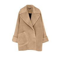 Женское укороченное пальто. Модель 8722, фото 3