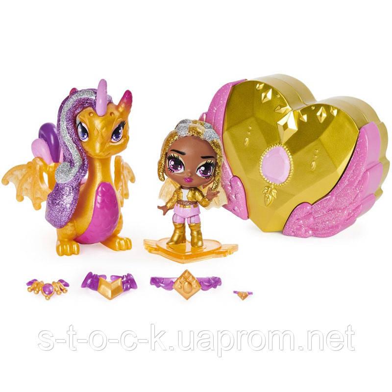Кукла Hatchimals 6058551 - Наездники пикси - Shimmer Charlotte & Draggle Glider