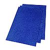 Фоамиран 2мм глиттерный 20х30 см синий 1922