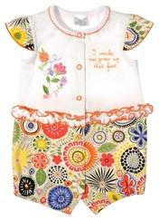 Песочник нарядный на лето для девочки, ТМ Garden Baby