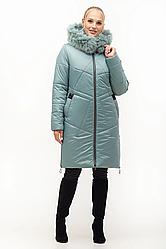 Зимние женские куртки с натуральным мехом размеры 46-58