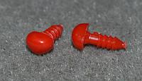 Небольшой носик  красный 7 на 3 мм