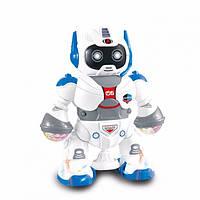 Танцующий светящийся робот Dancing Robot | детская игрушка музыкальный робот со светом и звуком