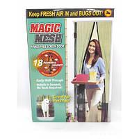 Антимоскитная сетка на магнитах Magic Mesh