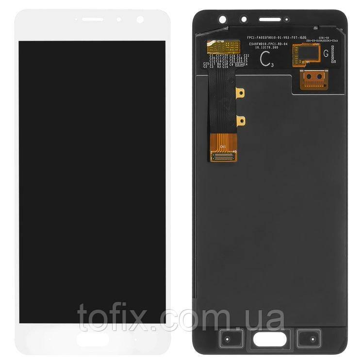 Дисплей для Xiaomi Redmi Pro, модуль в сборе (экран и сенсор), белый, оригинал