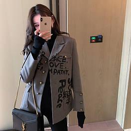Женский стильный пиджак. Модель 3002