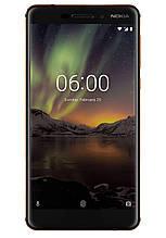 "Телефон Nokia 6.1 3/32Gb 5.5""/ TA-1050 / з NFC / Snap 630 / 16Мп / 3000маг Black refublished"