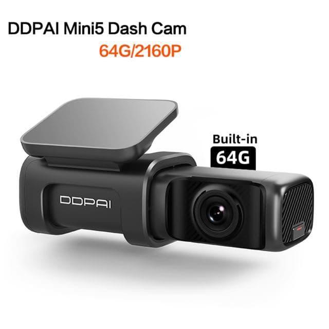 Автомобильный видеорегистратор Ddpai mini 5 4К 64gb