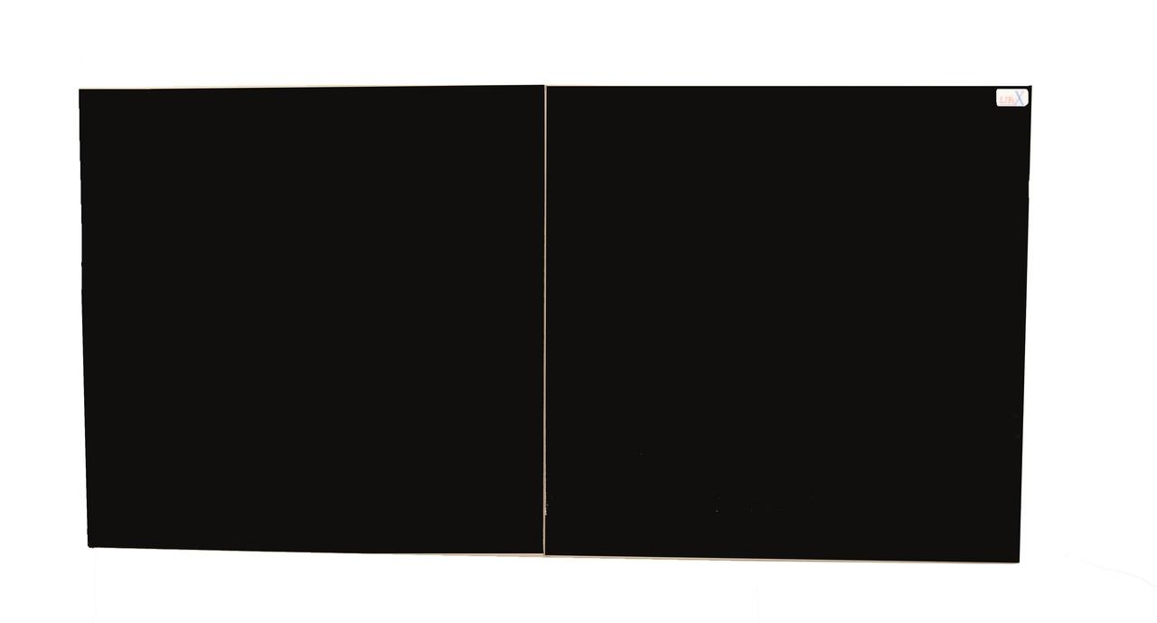 Керамическая панель с терморегулятором LIFEX КОП800R (черный)