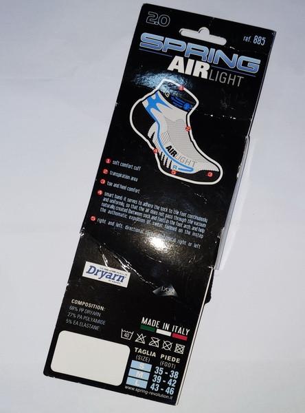 Спортивні носки Spring Revolution 885 43-46 air light