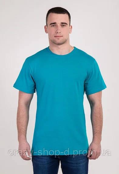 Мужская футболка бирюза